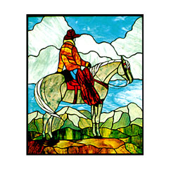 CKE-114 Trail Ridge Rider (Stained Glass Full Size Patterns)