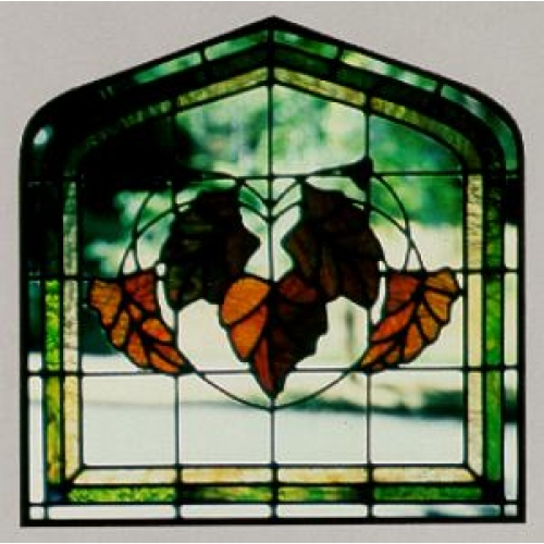 CKE-134 English Country Door (Stained Glass Full Size Patterns)