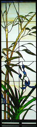 CKE-56 Bamboo Window (Stained Glass Full Size Patterns)