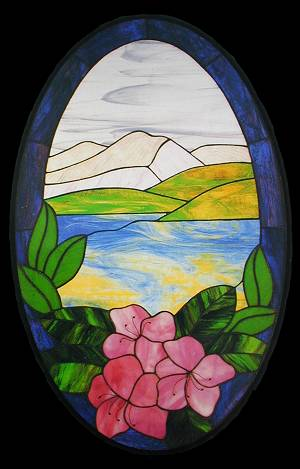 CKE-12 Nature's Beauty (Stained Glass Full Size Patterns)