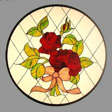 CKE-8 Rose Bouquet (Stained Glass Patterns Full Size)