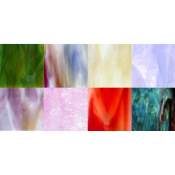 STAINED- GLASS- VARIETY- PACK 9- 8INX8IN