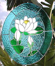 WaterLilySuncatcherPanel