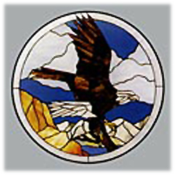 CKE-113 Eagle Landing (Stained Glass Full Size Patterns) Size & Fit Guide