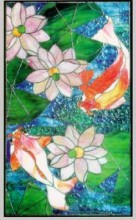 CKE-141 Water Minuet (Stained Glass Full Patterns)