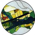 CKE-147 WWI Dog Fight (Stained Glass Full Size Patterns)