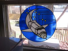 CKE-148 Shuttle (Stained Glass Full Size Patterns)