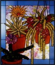 CKE-173 Cactus Medley (Stained Glass Full Size Patterns)
