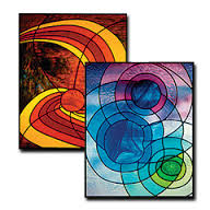 CKE-178 Rain Drops (Stained Glass Full Size Patterns)