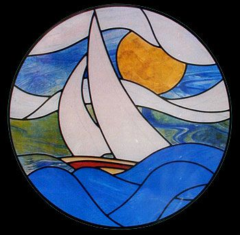 CKE-31 Sea Breeze (Stained Glass Full Size Patterns)