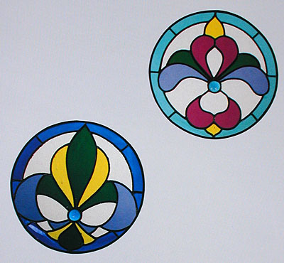 CKE-51 Mini Victorians (Stained Glass Full Size Patterns)
