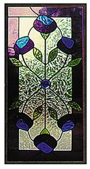 CKE-52 Formal Flower (Stained Glass Full Size Patterns)