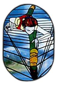 CKE-66 Dancer (Stained Glass Full Size Patterns)