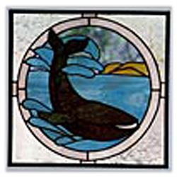 CKE-70 Whale (Stained Glass Full Size Patterns)