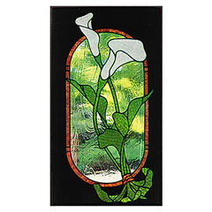 CKE-93 Calla Lily (Stained Glass Full Size Patterns)