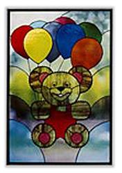 CKE-97 Air Bear (Stained Glass Full Size Patterns)