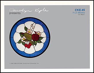 CKE-45 Fruit Medley (Stained Glass Full Size Patterns)
