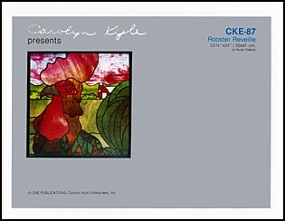 Free stained glass patterns - A4 Etc. Free Stained Glass Pattern